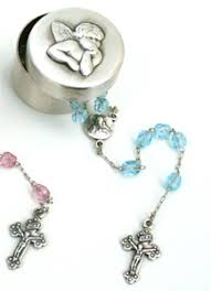 baptism rosary baptism christening and gifts for godparents gifts illumigifts