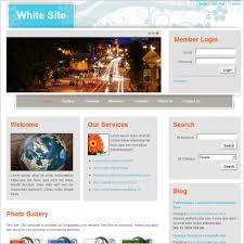 white site template free website templates in css html js format