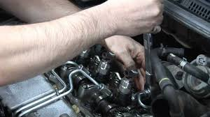 replacing denso diesel common rail injectors youtube