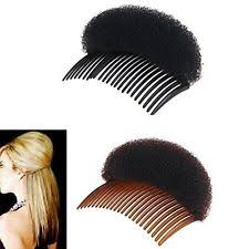 bump it 2pices1black 1brown women bump it up volume hair base styling clip