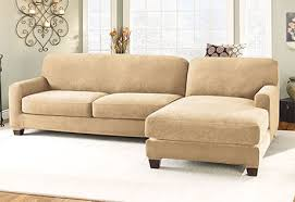 Slipcover Sofa Sectional Sectional Chaise Sofa Slipcovers Sure Fit Home Decor