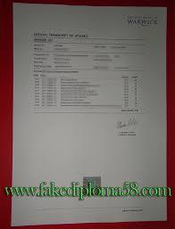 university of warwick transcript sample buy degree in