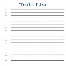 to do list template for word task list templates