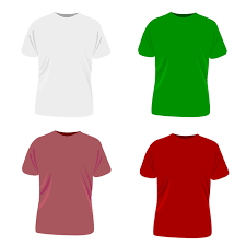 white t shirt template free vector 123freevectors