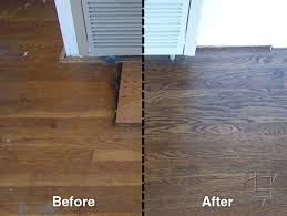 before and after oakland wood floors