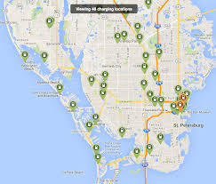 Miami City Map by How Ev Charging Station Networks Compare City To City Maps
