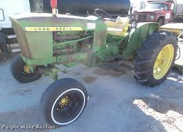 1962 john deere 2010 tractor item da7685 sold march 30