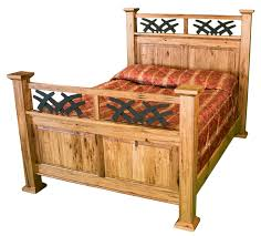 Rocking Bed Frame by Amish Bed U2013 Timber Lodge Furniture