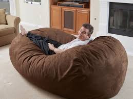 giant bean bag bed home decorations ideas