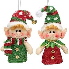 christmas decorations elf amazon com
