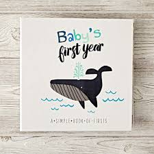 baby 1st year book baby s year boy by the land of nod