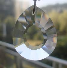 free 50pcs 38mm clear chandelier glass crystals lamp prisms parts hanging drops pendants crystal chandelier parts in chandelier crystal from lights