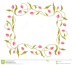 greetings card with floral pattern stock photos image 18519993