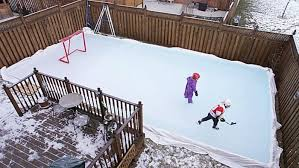 Hockey Rink In Backyard by How To Build A Backyard Hockey Rink Like A Pro Men U0027s Journal