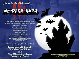 Halloween Monster Bash by 2012 Fall Guide Bucks Happening
