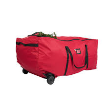 santa s bags 6 ft 9 ft no drag rolling tree storage duffel sb