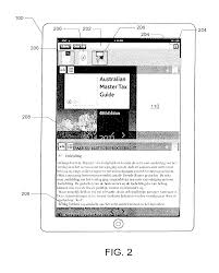 patent us20140033027 e book application with multi document
