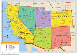 Blank Map California by Western United States Map Royalty Free Cliparts Vectors And
