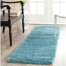 ebay area rugs safavieh power loomed aqua blue plush shag area rugs sg180 6060