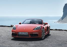 porsche boxster weight distribution porsche 718 boxster revealed with turbo d 4 cylinder engines