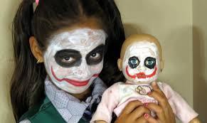 Kids Joker Halloween Costume Bad Baby Joker Vs Joker W Frozen Elsa Toys To See