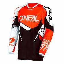 red bull motocross jersey oneal hardware flow true mx jersey orange 2018