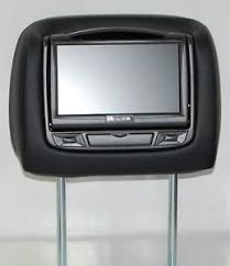 toyota highlander dvd headrest toyota venza dual dvd headrest players for cloth or leather