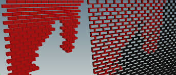 destruction how to color a connected mesh with solid red if only