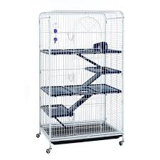Large Ferret Cage Blenheim Extra Tall Rat Cage With Accessories 140cm White Little