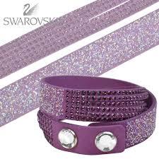 leather bracelet with swarovski crystal images Polaris rakuten global market swarovski swarovski bracelet duo jpg