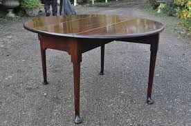 Oval Drop Leaf Table George Ii Mahogany Drop Leaf Oval Table C 1750 Uk From