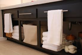 Bathroom Shelving Ideas For Towels Diy Bathroom Storage Ideas 13673