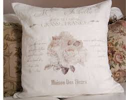 shabby chic pillows etsy