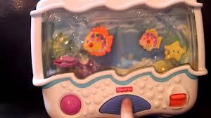 fisher price ocean wonders aquarium soother baby crib toy youtube