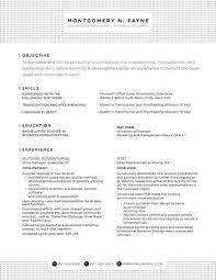 Resume Examples Job by 9 Best Conservative Resumes Images On Pinterest Resume Ideas