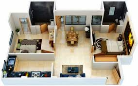 home design 2bhk 800 sq ft house plans 3d design ideas pertaining to 2 bedroom