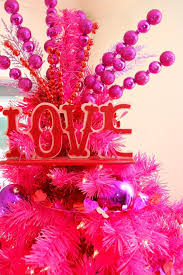 Tall Christmas Tree Decorations by 78 Best Valentine U0027s Day Trees Images On Pinterest Valentines Day