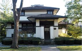 frank lloyd wright prairie architecture in elmhurst