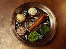 seder plate ingredients passover seder dinner recipes and cooking food network food