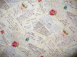 love letters fabric michael miller french post love letters