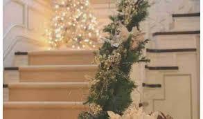 Christmas Railing Decorations Staircase Christmas Decorations Inspirational 50 Stunning