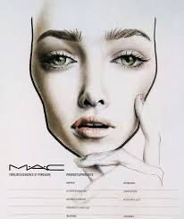 makeup school dc chart all about the eyebrows mac mac chart by amalia