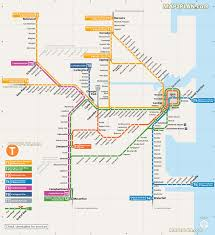 Sydney Map Sydney Map Official Public Transport Rail Network Diagram Of