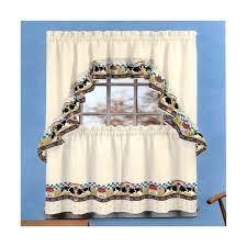 Cow Print Kitchen Curtains Fresh Milk Cow Country Style Curtain Drapery