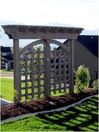 backyards wonderful 95 best images about side yard by garage on full image for stupendous our project managers can help you design your trellis or arbor kit