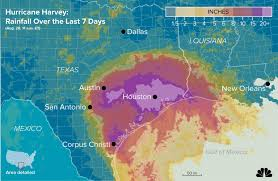 Rainfall Map Usa Flooded Houston Braces For More Rain As Harvey Rescues Continue