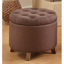 brown polyester u0026 polyester blend ottomans u0026 poufs you u0027ll love