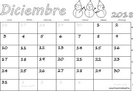 Calendario Diciembre 2018 Calendario Diciembre 2018 Para Imprimir Imprimir El Pdf Gratis