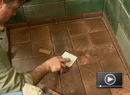 Installing Bathroom Floor Tile How To Install A Tile Shower Floor For Tile Floor Cleaner Bathroom