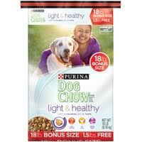 purina light and healthy puppy chow tender crunchy bonus puppy food 18 lb from food lion